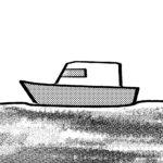 左向きの船